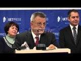 """Report TV - Promovohet libri i ri i akademikut Kristo Frashërit """"Historia e Çamërisë"""""""
