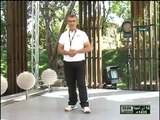 برنامج الجسم السليم الحلقة 4 ـ قناة نور الشام ـ مدرب التايكواندو زياد حمشو taekwondo