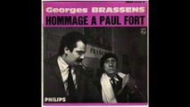 Georges Brassens - A Mireille, Dite Petit Verglas ( Poème de Paul Fort )