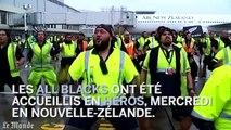 Rugby : les All Blacks accueillis en héros en Nouvelle-Zélande