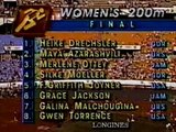 Florence Griffith-Joyner – Record du Monde 200m femme  – Record du Monde 200m femme