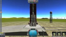 Kerbal Space Program Part 1 My First Space Rocket Fail KSP Space program kerbal space stat