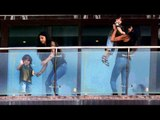 Shahrukh Khan's Daughter Suhana With Abram At Mannat
