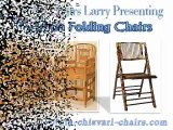 Chiavari Chairs Larry Presenting  Bamboo Folding Chair