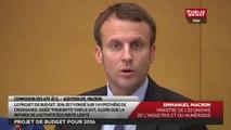 Les matins du Sénat - Audition d'Emmanuel Macron, ministre de l'Économie, sur le PLF 2016