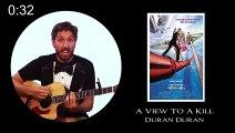 Buzz : Il chante les 24 génériques de James Bond en une minute ( All 24 James Bond Theme Songs Performed in a Minute ) !