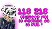 AUREDU30 - 118 218 Chanter moi la MUSIQUE de la PUB