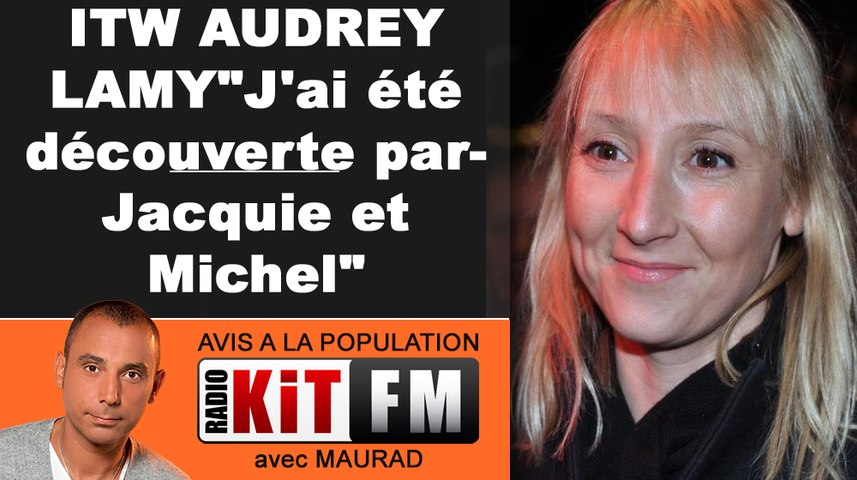 EXCLUE : AUDREY LAMY DECOUVERTE PAR JACQUIE ET MICHEL