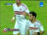 هدف الزمالك الأول (المقاولون العرب 1-1 الزمالك ) الدورى المصرى الممتاز