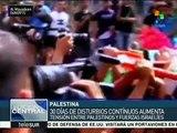 Disturbios y enfrentamientos continúan en Palestina