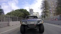 Course de pickups à plus de 200 km/h