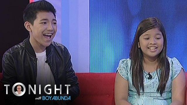 """TWBA: Darren, Elha sing """"Flashlight'"""