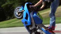 LONGEST Motorcycle WHEELIE On Highway Street Bike STUNTS Long Motorbike WHEELIES Stunt Bik