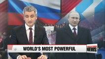Vladimir Putin tops Forbes' most powerful people list