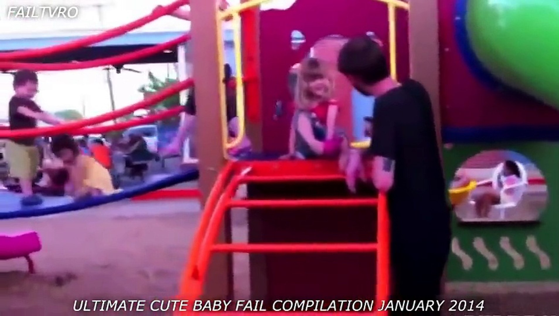 Funny Kids On Play Ground