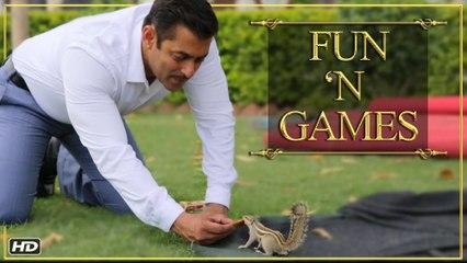 Prem Ratan Dhan Payo | Fun 'N Games | Salman Khan & Sonam Kapoor | Diwali 2015