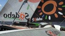 Jour 10 - Sodebo Ultim' (Ultime) - Transat Jacques Vabre 2015