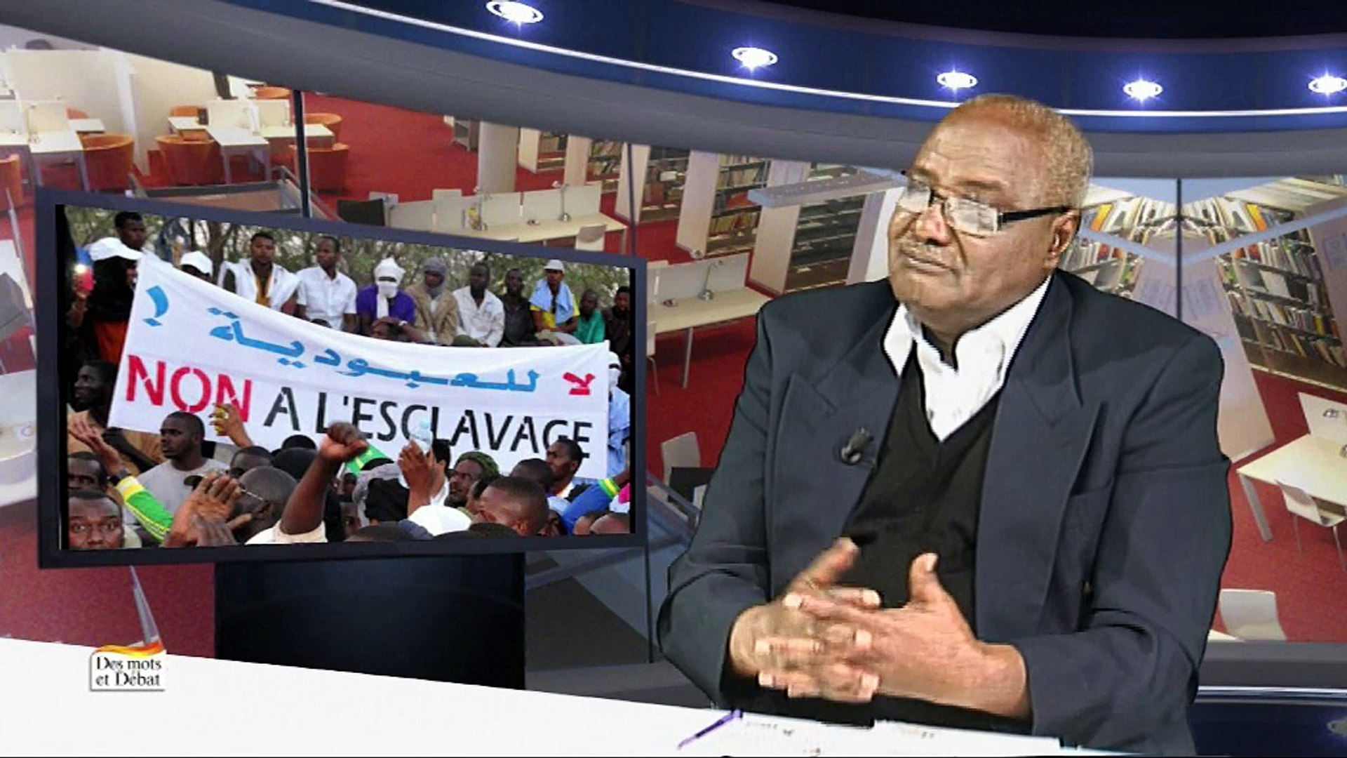 Des mots et Débat avec Mohamed Yahya Ould Ciré - Vidéo Dailymotion