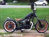 les plus belle moto steampunk rat .. rats bike .. full hd .. harley vespa