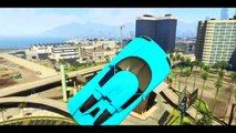 GTA 5 Online Insane Stunt Montage Jumps, Flips & Tricks GTA V BEST Moments Crazy Stunts