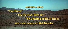 Blazing Saddles 1974  Comedy, Drama, Romance Stars Brendan Fraser, Alicia Silverstone_0001