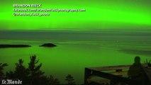 Time-lapse : une aurore boréale illumine le ciel du Michigan