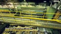 Du tronc à la planche - Visitez une usine de fabrication de planches en bois
