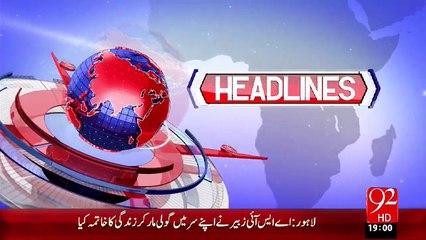 Headlines - 07:00 PM – 05 Nov 15 - 92 News HD
