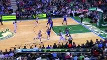 Les highlights de Jahlil Okafor face aux Bucks (04.11.2015) - 21 points, 2 contres