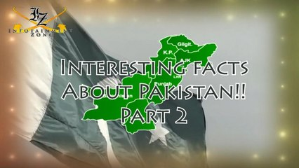 Interesting Facts about Pakistan | Part 2