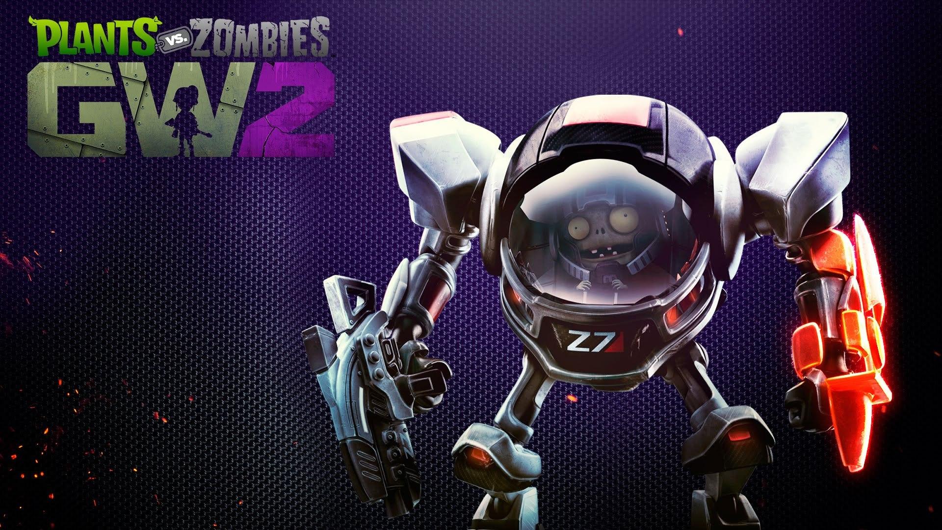 Pvz Garden Warfare 2 Official Grass Effect Z7 Mech Gameplay