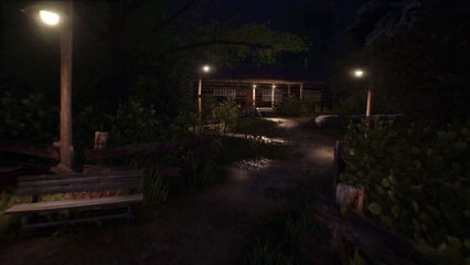 Friday the 13th  The Game - Pre-Alpha Camp Crystal Lake Environment Fly-throughs de Friday the 13th The Game