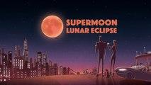 #SupermoonLunarEclipse NASA Supermoon Lunar Eclipse