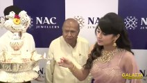 Trisha launches NAC Jewellers Perambur branch
