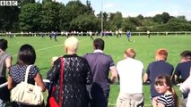 Man United legends Giggs, Butt, Scholes & the Nevilles go up against Salford City in train