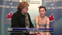 Leah Lee - 2016 Skate Canada BC/YK Sectional Championships