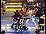 Crazy Boy, La Parka & Laredo Kid vs. Los Wagner Maniacos (Electroshock, Silver King & Ultimo Gladiador) AAA - 17.01.2010