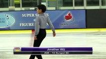Jonathan Wu - 2016 Skate Canada BC/YK Sectional Championships