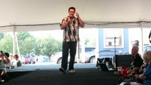 William Marks sings 'Are You Lonesome Tonight' Elvis Week 2015
