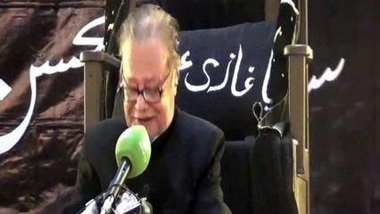 Allama Talib Jauhary 01 Majlis 01 Muharram 1437-2015