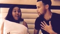 Stephen Curry & Wife Ayesha Sing Song from Disney's Frozen