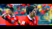Chile 4-1 Estados Unidos *Mundial Sub 17 2015* Todos los Goles