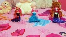 Frozen Elsa Cartoon For Kids   Teddy Bear Cartoons   Frozen Elsa Teddy Bear Cartoons for C