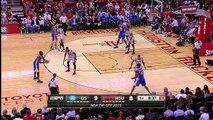 Harrison Barnes Posterizes Dwight Howard | Warriors vs Rockets | October 30, 2015 | NBA