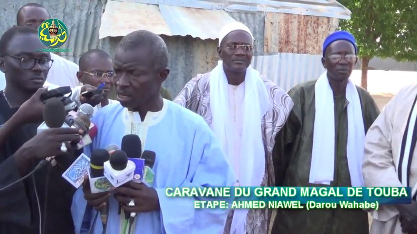 Caravane Magal Touba 2015: Etape Ahmed Niawel (Barab bii fi la Mbakhane convoqué won Serigne Touba thi Ndigeulou Toubab Bi)