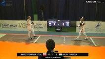 CdM fleuret dames St-Maur 2015 - poules > T64 préliminaire piste rouge (6/11/2015)