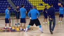 FCB Futsal: Declaracions de Marc Carmona i Paco Sedano abans d' El Pozo- Barça Lassa