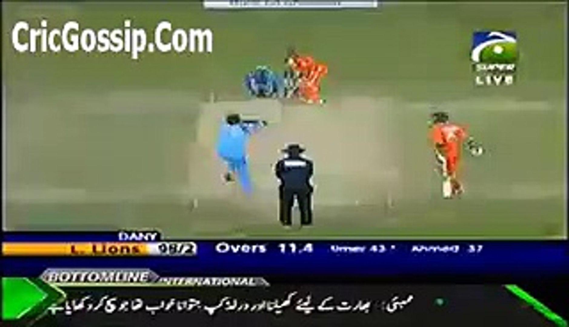 Danish Kaneria Magic Ball To Umar Akmal Clean Bowled Him Faysal Bank T20 2012