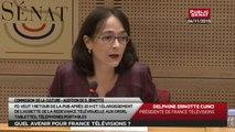 Audition de Delphine Ernotte, PDG de France Télévisions - Les matins du sénat