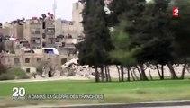 REPORTAGE FRANCE 2. Syrie : en banlieue de Damas, la guerre en sous-sol